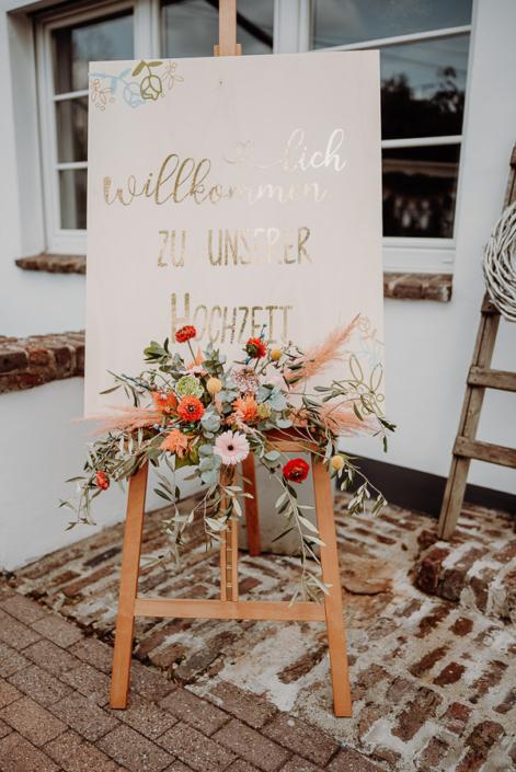 Willkommen zu eurer Hochzeit